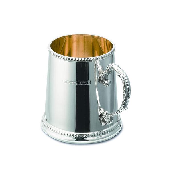 Hallmarked Silver Christening Cup