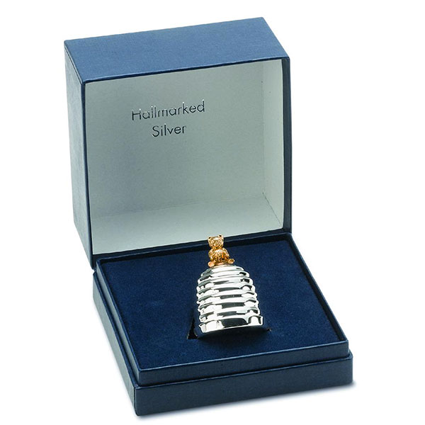 Hallmarked Silver Box for First Tooth