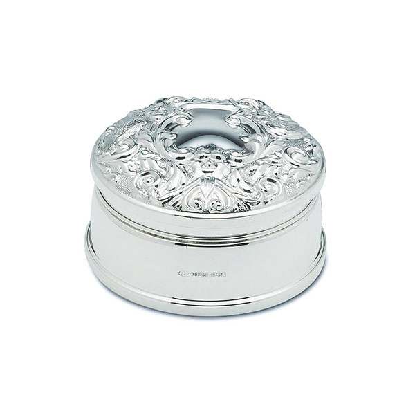 Hallmarked Silver Jewel Box Broadway Silver