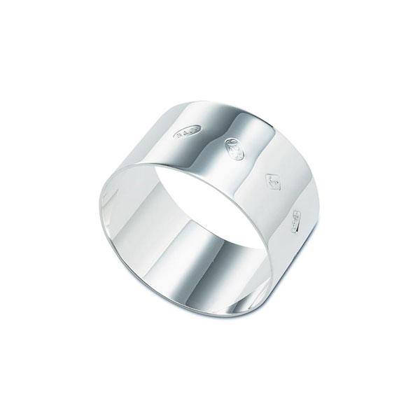Hallmarked Heavy Gauge Napkin Ring 25mm