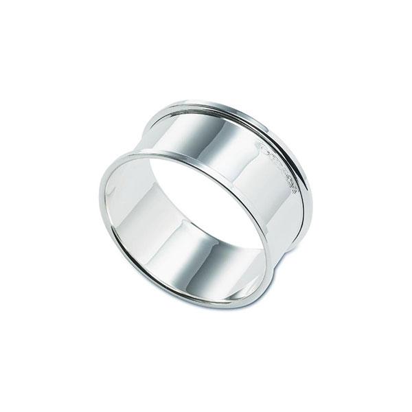 Hallmarked Silver Plain Napkin Ring