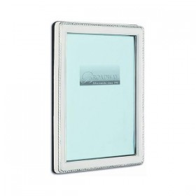 Hallmarked Rectangular Rope Border Photo Frame