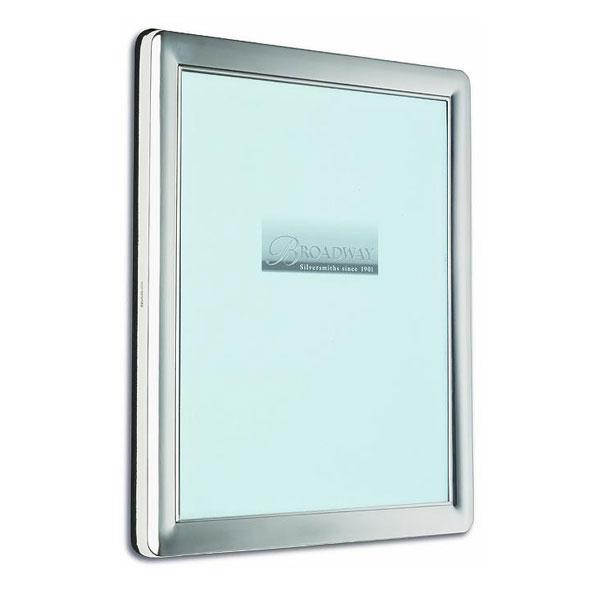 Hallmarked Silver Plain Photo Frame