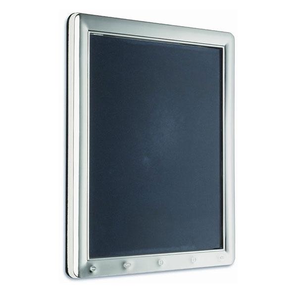 Large Feature Hallmark Silver Photo Frame