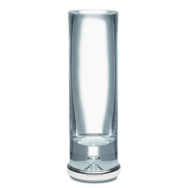 Hallmarked Krosno Silver Cylinder Vase Broadway Silver